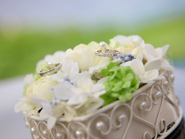 le bijou wedding ル・ビジュウ ウエディング リングピロー